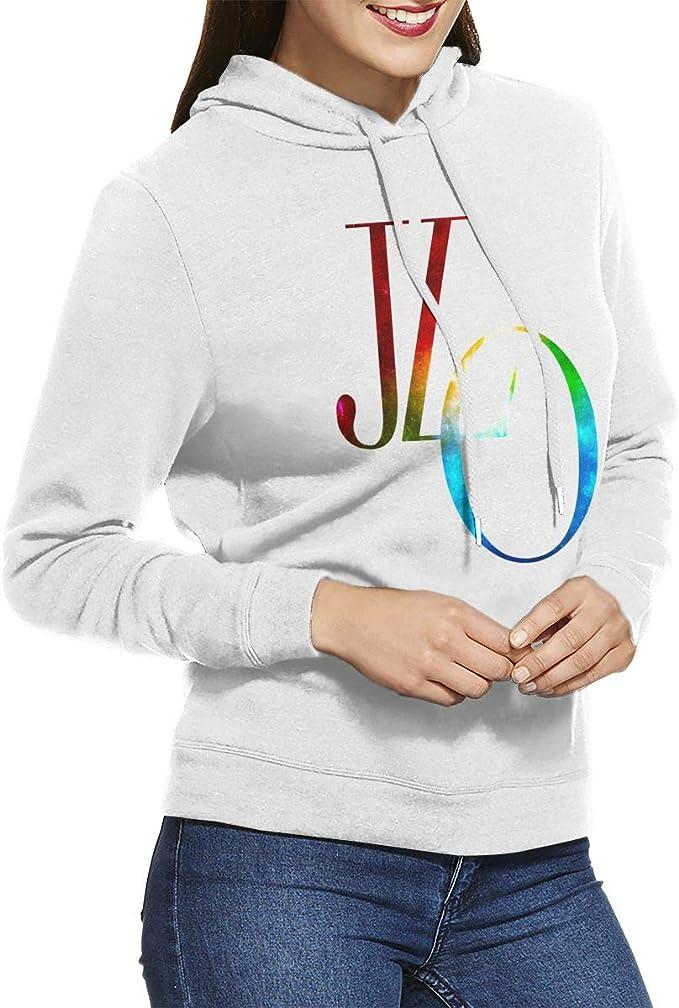 Jennifer Lopez Love Womens Fashion Personality Long Sleeve Tshirts Black