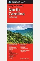 Easy To Read: North Carolina (Rand McNally State Maps) Map