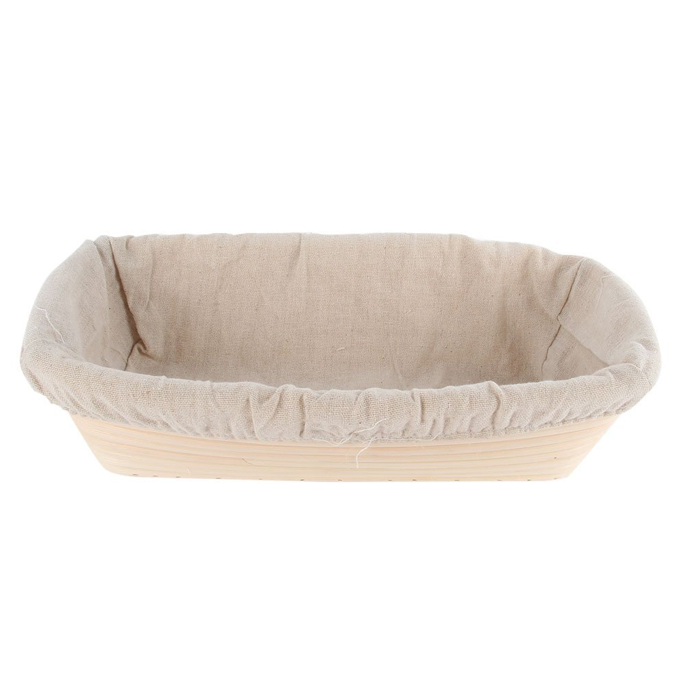 EXIU Banneton Bread Proofing Basket with Linen Liner