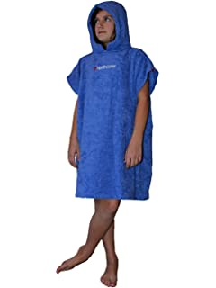 e0cb24a991 TONCHO Children s Towel Poncho Changing robe - soft hooded compact ...