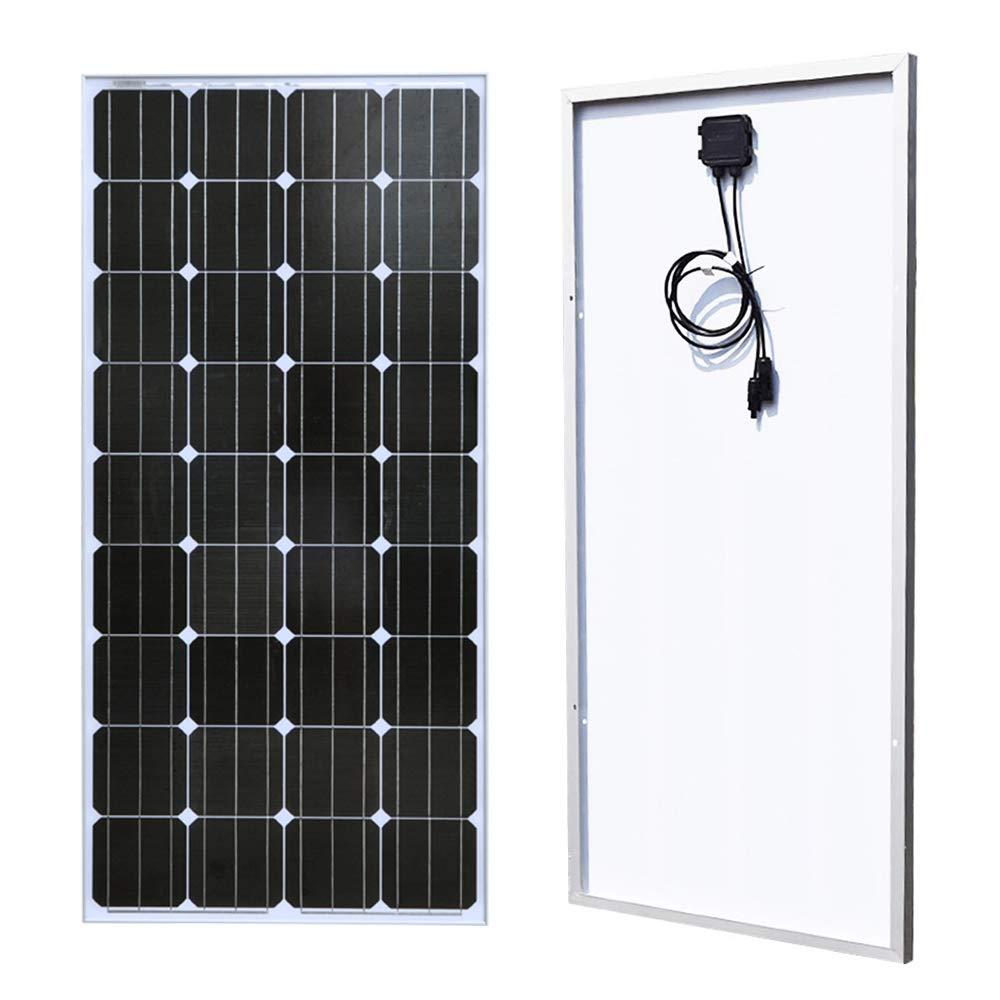 XINPUGUANG 100 Watts 12 Volts Monocrystalline Solar Panel (100W)