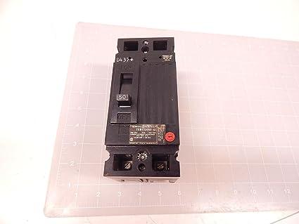 GENERAL ELECTRIC CIRCUIT BREAKER 50AMP 2POLE