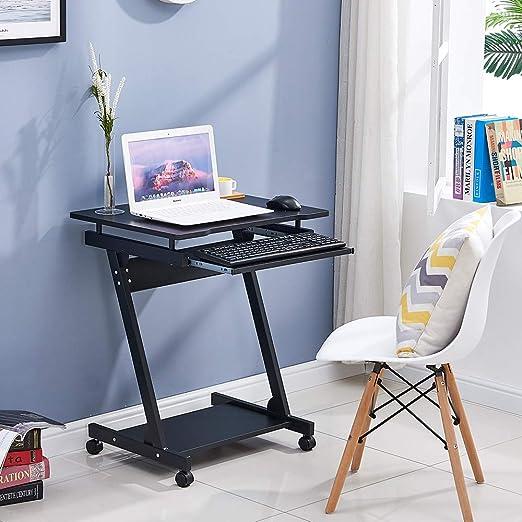 Mesa de escritorio para ordenador BOJU con forma de Z móvil para ...