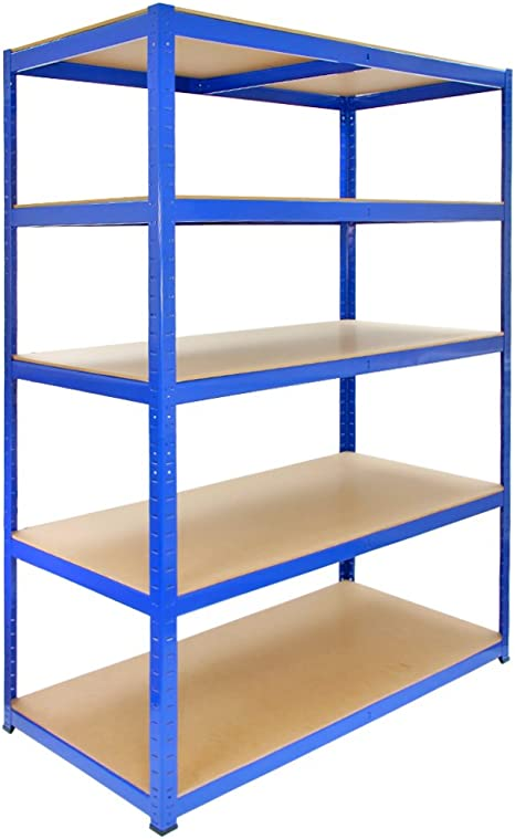 Monster Racking T Rax Garage Shelving Unit Extra Wide 5 Tier Heavy Duty Rack For Storage