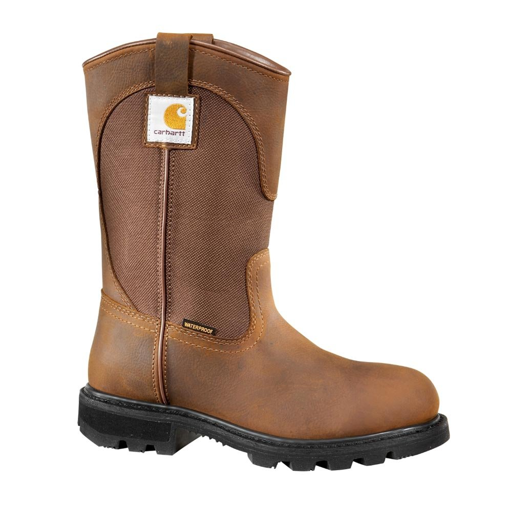 Carhartt Women's CWP1150 Work Boot,Bison Brown Oil Tan,6 M US