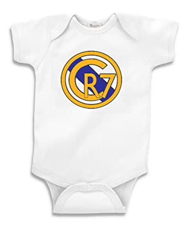 Amazon Com The Silo White Cristiano Ronaldo Real Madrid Cr7 Baby 7abccf1fd