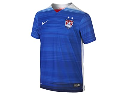 223a9abacb4 Nike USA Youth Short Sleeve Away Stadium Jersey (Game Royal Royal Blue) (