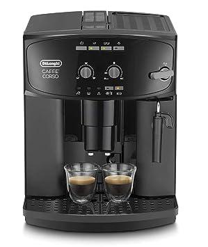 DeLonghi ESAM 2600 - Cafetera superautomática, 15 bar de presión, dispositivo cappuccino