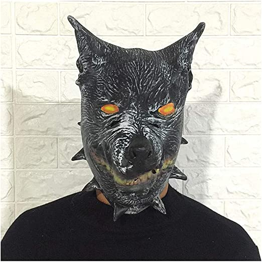 HX Máscara de Cabeza de Animal Máscara De Látex Animal, Máscara De ...