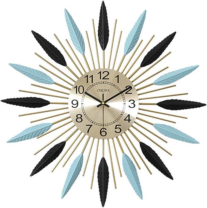 Reloj de pared para cocina, diseño de estrella, moderno