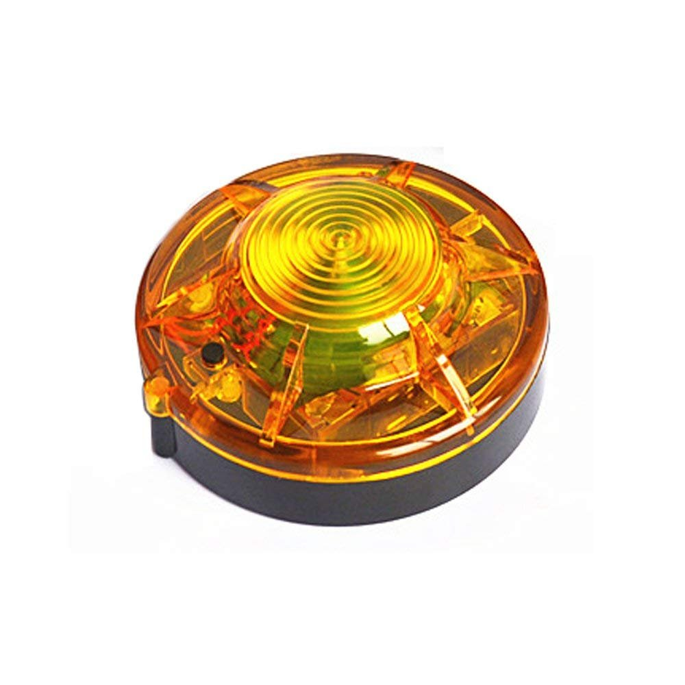1pcs Yellow Emergency Flare Alert Warning Signal Caution Light Beacon Magnetic Base