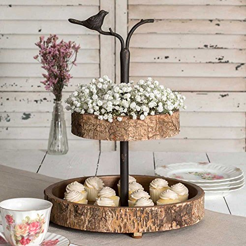 Tray Bird (Colonial Tin Works: Bird and Birch Two Tiered Tray)