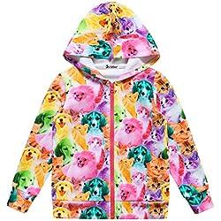 hoodies for girls kids hoodie owl jake paul cute cool navy jake paul Cat Dog 130 Cat Dog Coat 6-7Years Height 48in