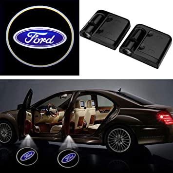 Car Door Projector LED Light Shadows Lamp Wireless Courtesy Laser For FORD