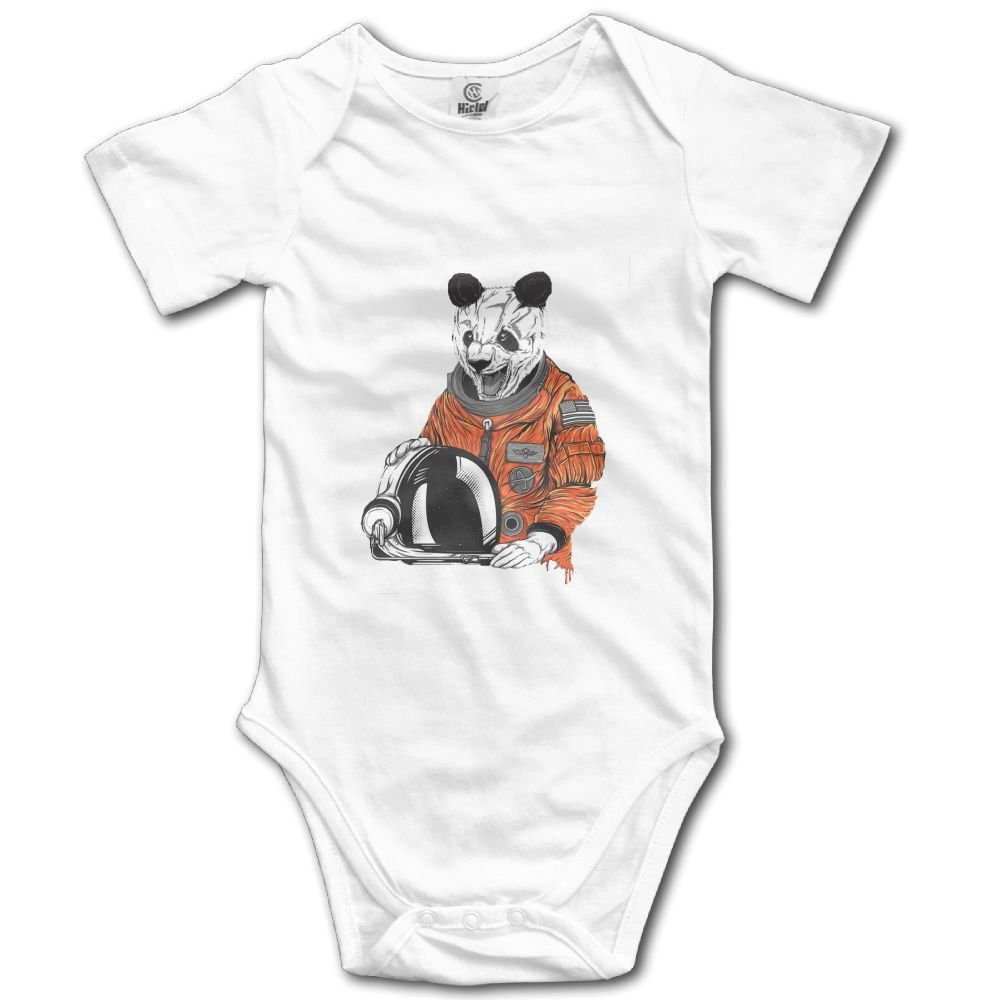 Rainbowhug Crazy Astronaut Panda Unisex Baby Onesie Lovely Newborn Clothes Funny Baby Outfits Soft Baby Clothes