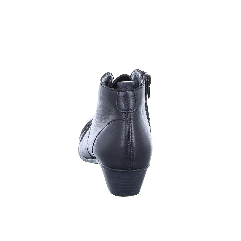 Remonte Damen Stiefelette D7370 Schwarz Schnürer Schnürer Schnürer Reißverschluss Leder Warmfutter 1a350a