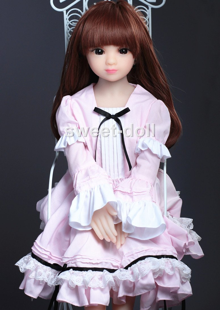65cmかわいい人形のためのラブリーモデル金属の骨格とソリッドCutie 特別な贈り物とともに (65cm贫乳)