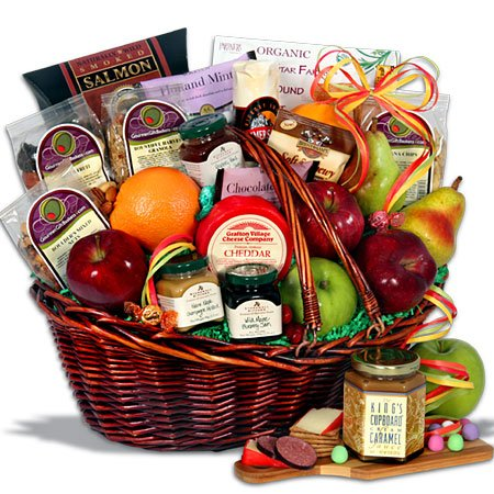 Bountiful Harvest™ - Fruit Gift Basket