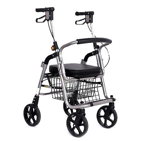 Carritos de la compra Trolley Coche Andador Anciano Scooter ...