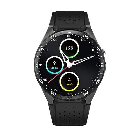 Kingwear KW88 Smartwatch Teléfono 3G WCDMA 1,39 pulgadas Pantalla MTK6580 Quad-core 1
