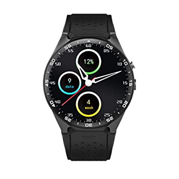 cb396d11388 King Wear Kw88 3G WCDMA Smart Watch Phone 1.39 Inch MTK6580 Quad Core  1.3GHz CPU