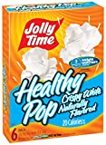 microwave fat free popcorn - Jolly Time Healthy Pop Crispy White Weight Watchers Natural Flavor Microwave Popcorn, 6-Count Boxes, 18 oz (Pack of 6)