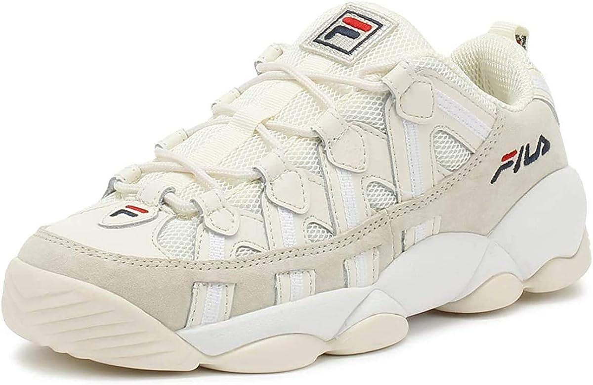 Fila Spaghetti Low White Sneakers-UK