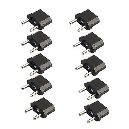 to US EU//AU Europe//Australia Converter Power Plug Travel Adapter Canada