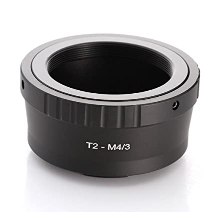Fotga T2 T Mount Lens to M4/3 Micro Four Thirds Micro 4/3 M43 Adapter for  Olympus EP1 EP5 E-PL7 Panasonic GH4 GH5 GF6