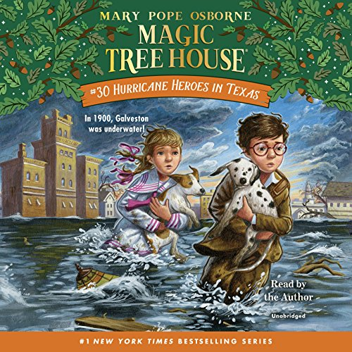 Hurricane Heroes in Texas (Magic Tree House (R)) by Listening Library (Audio)