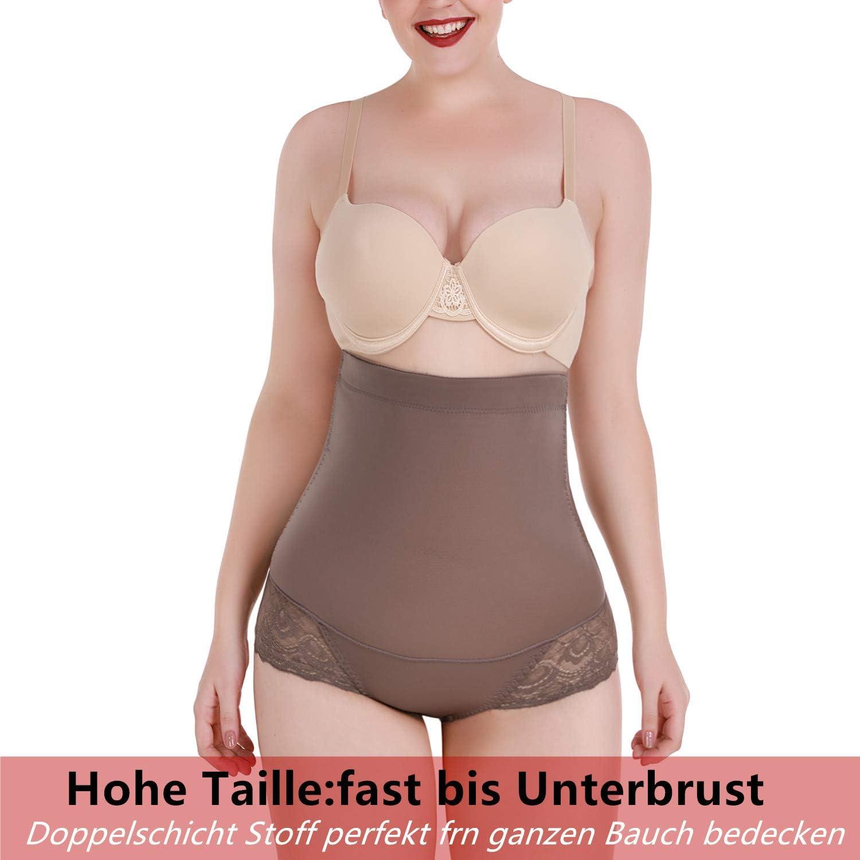 SHAPERIN Mujer Braguitas Moldeadoras Cintura alta Compresi/ón Controlar Bragas Pantalones Fajas
