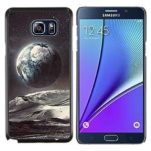 Stuss Case / Funda Carcasa protectora - Planet Space Tierra Arte Estrellas Cosmos - Samsung Galaxy Note 5