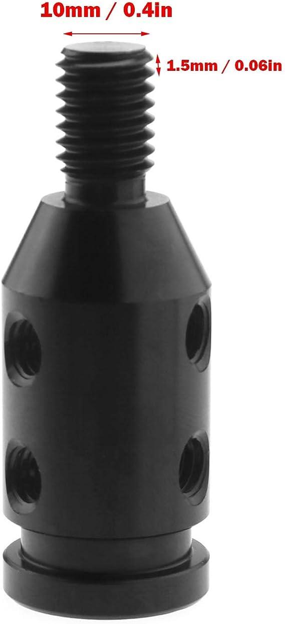 M10 Schaltknauf Adapter Ohne Gewinde Mit M8 M10 M11 M12 Gummi Gewinde Set Schwarz M10 X 1 5 Baumarkt