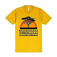 Baaaaaaa Sowenyaaaaaaaa Mamabeatsebabah!!! | M Gold T-Shirt | Funny Lion King Shirts