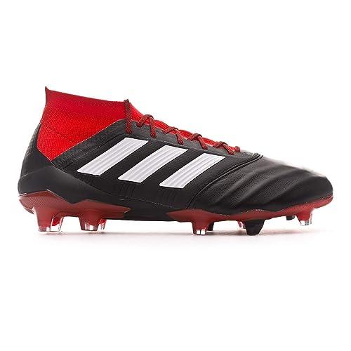 adidas Predator 18.1 FG, Zapatillas de Fútbol para Hombre, Amarillo Syello/Cblack/Solred, 48 2/3 EU: Amazon.es: Zapatos y complementos