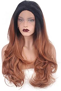 ZhiGe Lace Wig,Former lace Lady Long Curly Hair-Chemical Fiber Wig Hoodie