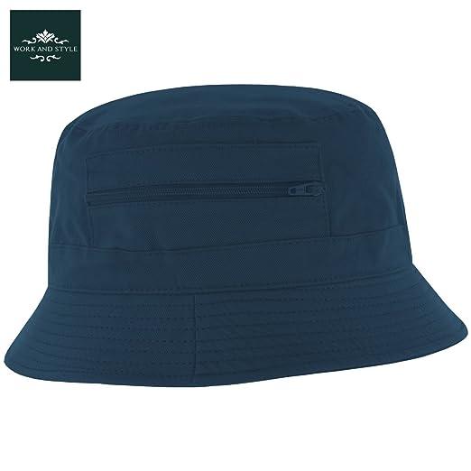 6 opinioni per Atlaua- Cappello da pescatore in cotone con tasche laterali- by Work and Style-