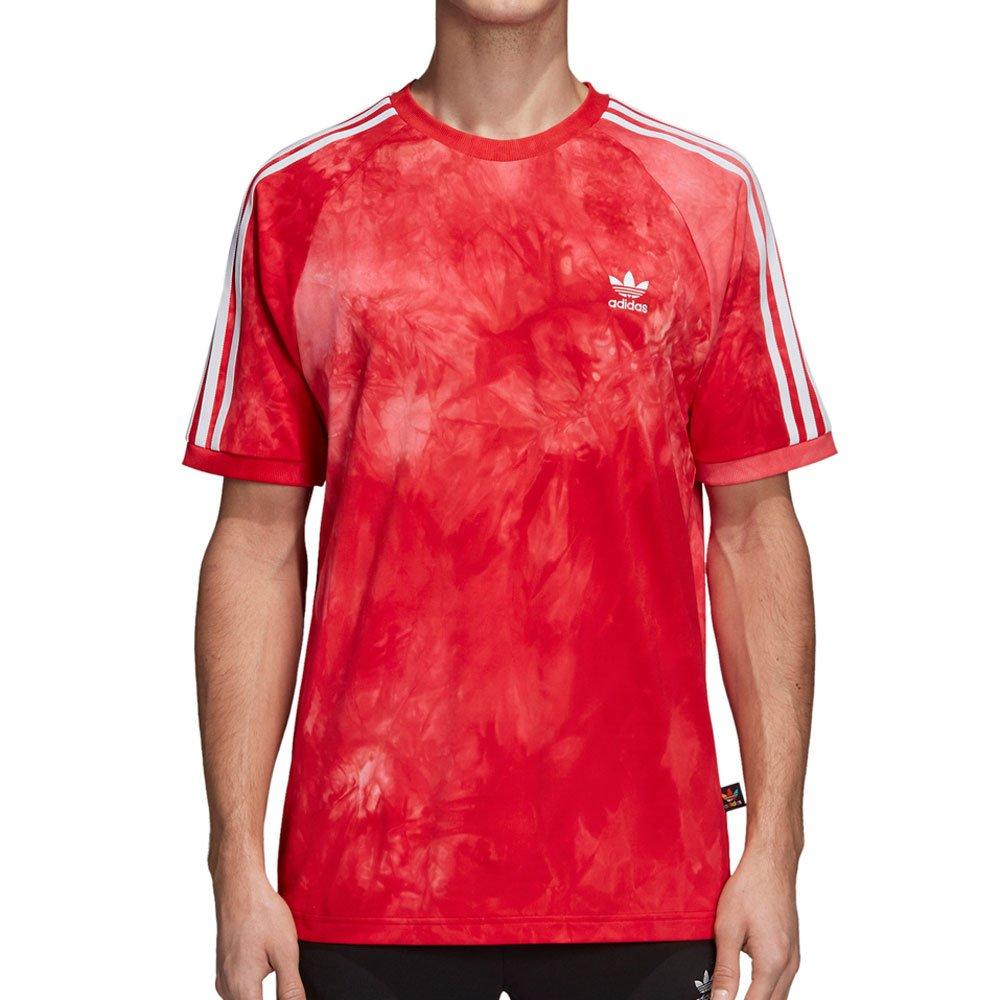 red white adidas shirt