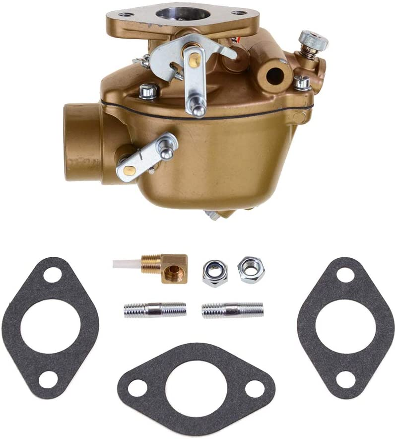 GOOFIT 27mm Carburetor with Gaskets Replacement for EAE9510C TSX428 TSX580 Ford Tractor Golden Jubilee NAA NAB 600 700