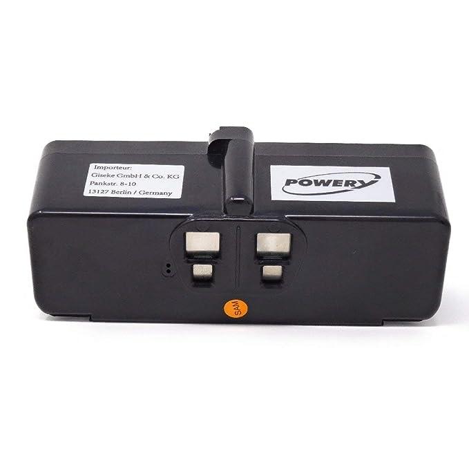 Powery Batería para Robot Aspirador iRobot Roomba 980: Amazon.es ...