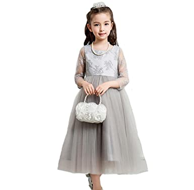e30cb88f4dfcf Amazon.co.jp: Honey baby 子供服 女の子ドレス 子供フォーマルドレス ...