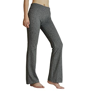 c0da2e3f27 rosport Plus Size Womens Bootcut Pants - Yoga Fitness Activewear Grey S