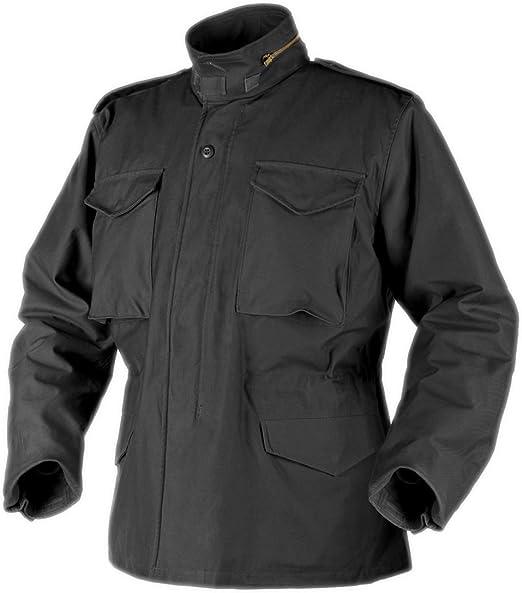 HELIKON M65 Authentique Veste de terrain avec doublure armée forces américaines hiver manteau noir