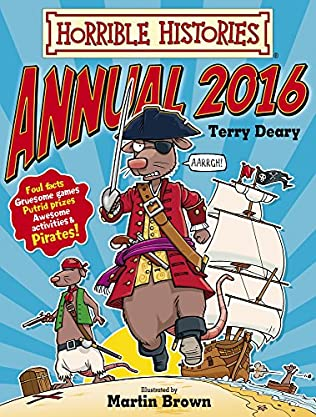 book cover of Horrible Histories Annual 2016