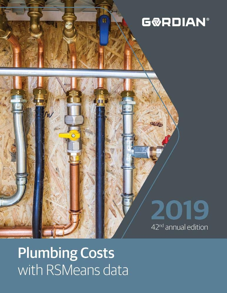 Plumbing Costs with RSMeans data 2019