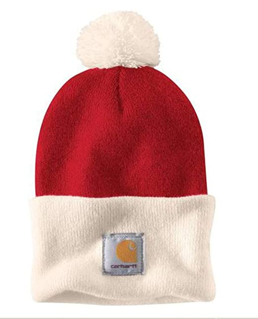 Carhartt Lookout Hat - Rojo Gorro de Invierno CH103343600-One Size ...