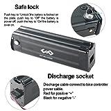 UnitPackPower 36V 18AH Lithium ion E-Bike Battery