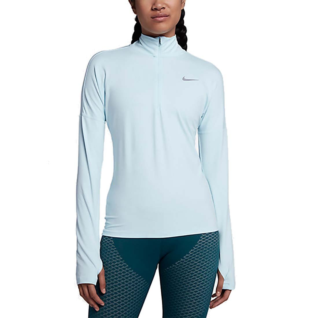 Nike Women's Dry Element Running Top GLACIER BLUE SM