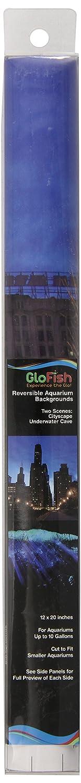 GloFish 19025 Aquarium Background, Jellyfish/Anemone 75019025
