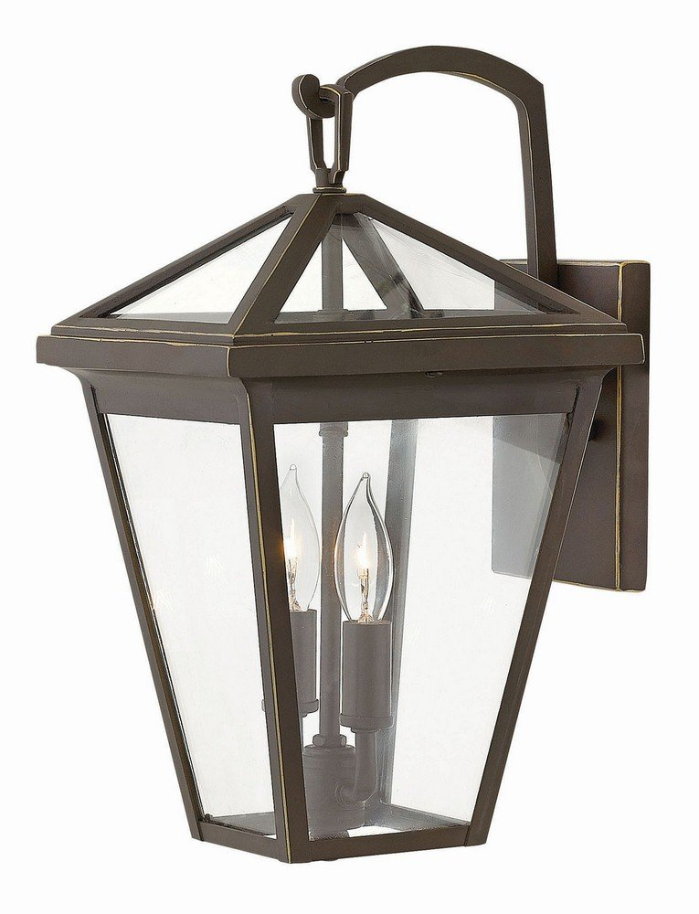 Hinkley 2560OZ Transitional Two Light Outdoor Wall Mount from Alford Place collection in Bronze/Darkfinish,